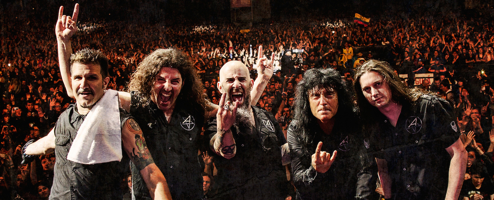"Anthrax – The Raven Age""Among The Kings"" Tour"