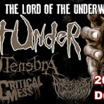 Six Feet Under – Infernal Tenebra – Critical Mess – Morose Vitality – Dead Eyes Always Dreaming